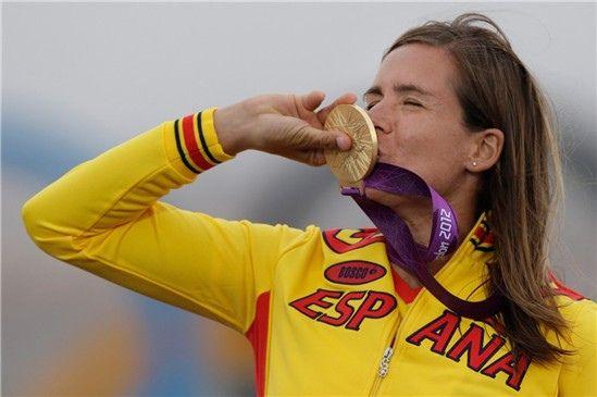 Marina Alabau, medalla de oro en los pasados Juegos de Londres / Foto: http://campeonisimas.es