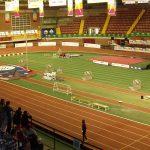 Pista de atletismo del Pabellón de San Pablo