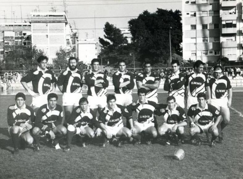 Plantilla del Ciencias, que se proclamó campeón de Liga en 1992