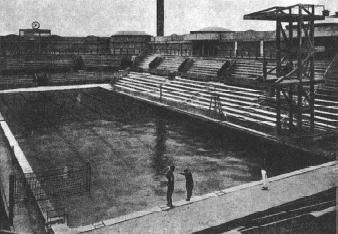 Piscina de Tourelles, sede de la competición de natación de los JJOO París 1920 / Foto: https://www.swimmingworldmagazine.com